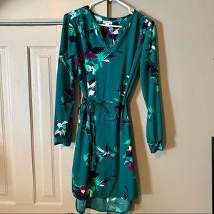 Merona tie-waist long sleeve dress